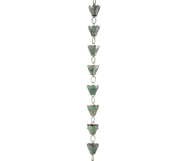 13-Cup-Tulip-Rain-Chain-Blue-Verde-Copper