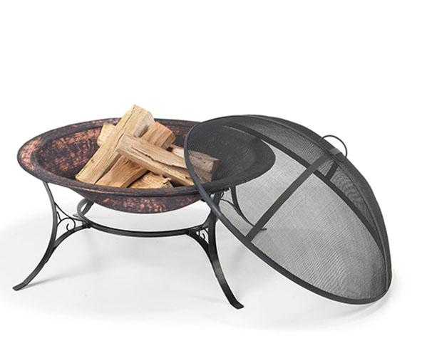 "Fire Pit with Spark Screen 30"" Medium"