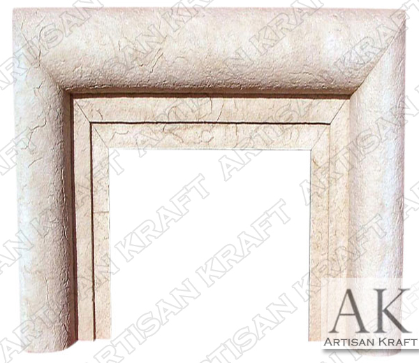 Aspen Precast Fireplace Mantel