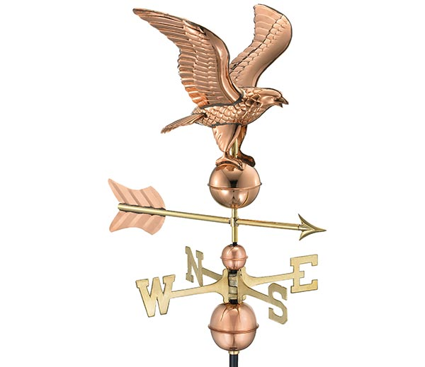 American-Eagle-Weathervane-Polished-Copper