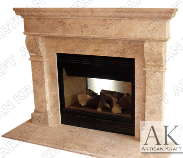 Baltimore Marble Fireplace Mantel