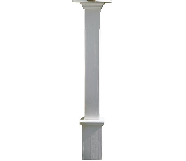 Boxford-White-Vinyl-Post