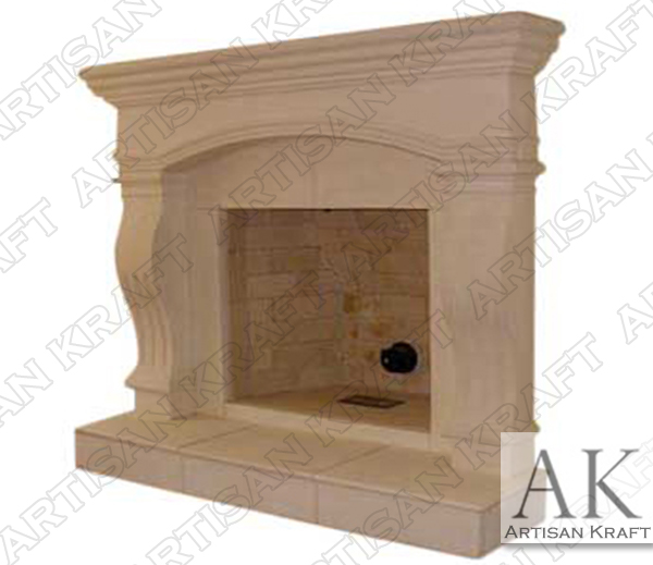 Cambridge Cast Stone Fireplace Mantel