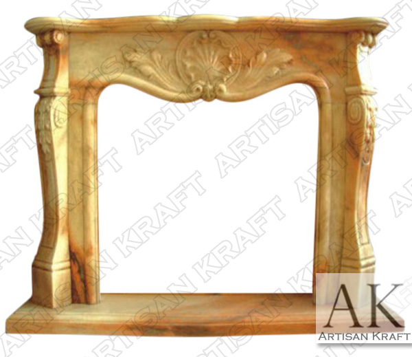 Carrington Marble Fireplace Mantel