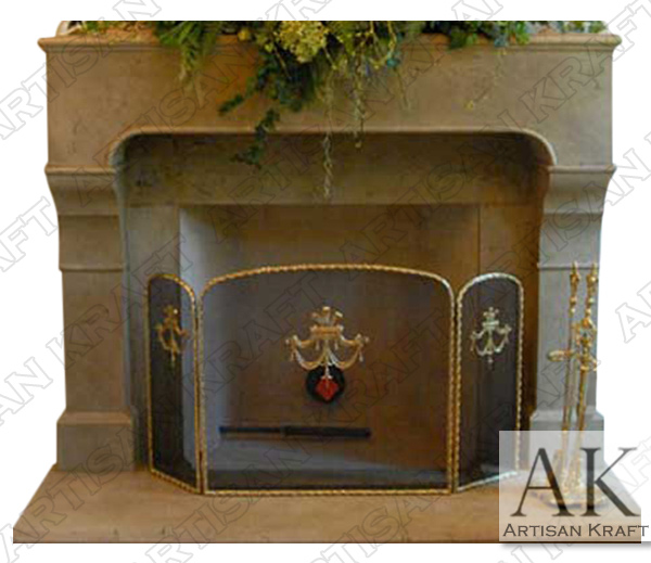 Chantel French Fireplace Mantel