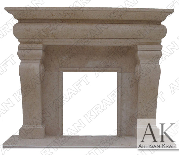 Classic French Fireplace Marble Mantel