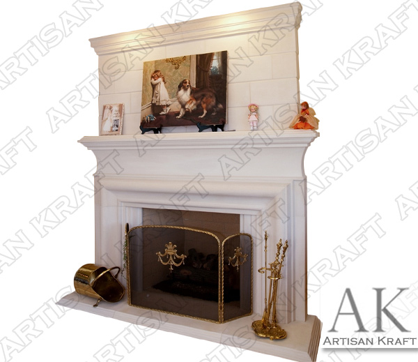 CLERMONT-FIREPLACE-OVERMANTEL