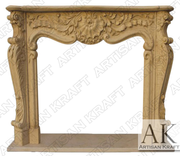 Connecticut Marble Fireplace Surround