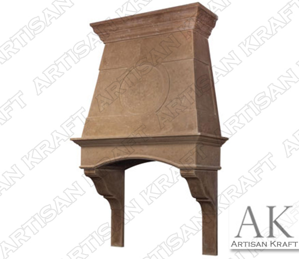 Charleston Cast Stone Kitchen Hood