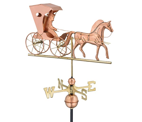 Country-Doctor-Weathervane-Polished-Copper