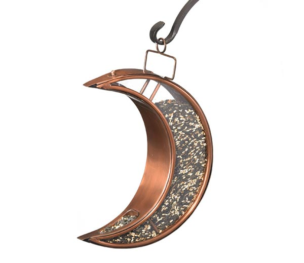 Crescent-Moon-Bird-Feeder-Copper-Finish