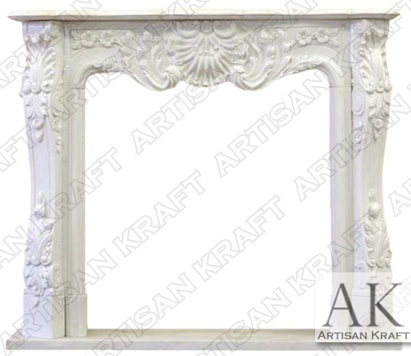 DC Regal Marble Fireplace Mantel