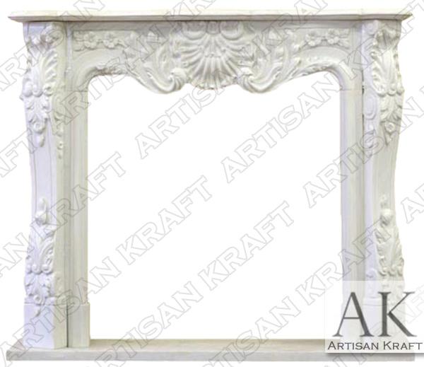 DC Regal Marble Fireplace Mantel