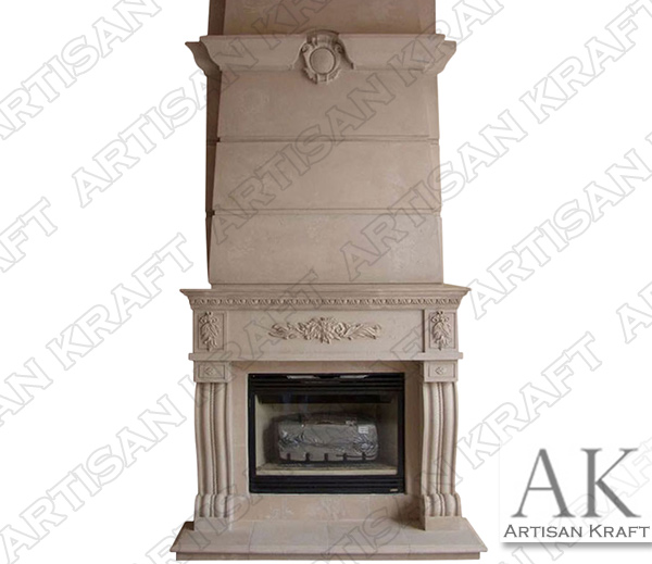 DENVER-FIREPLACE-OVERMANTEL
