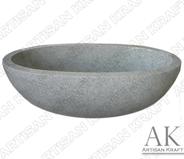 Granite Double Ended Oval Bathtub
