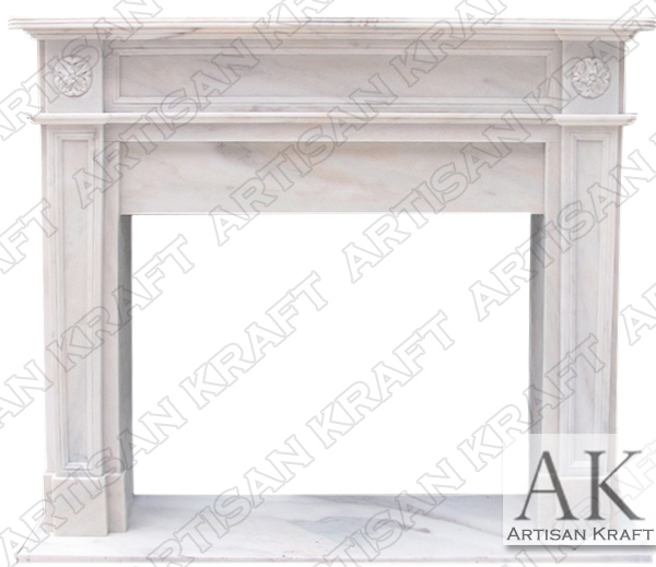 English Regent 2 Fireplace Mantel