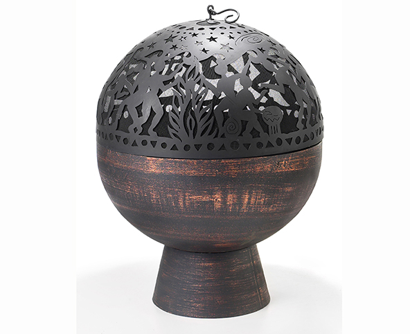 Fire Bowl with Full Moon Party FireDome Oversized