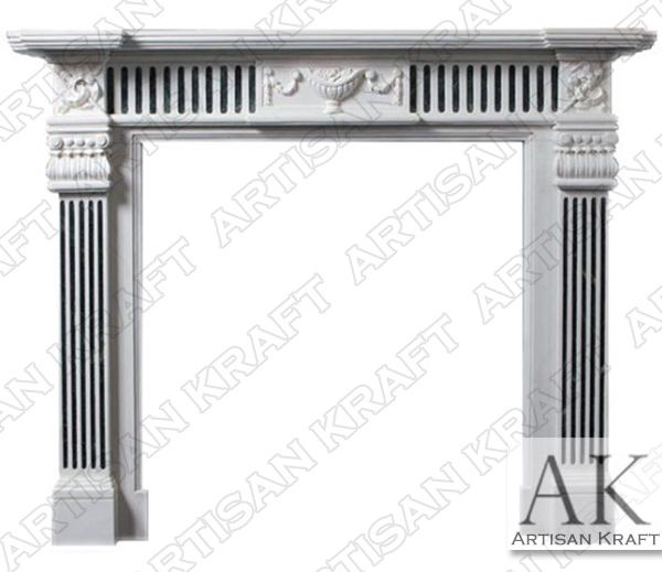 Georgia Marble Fireplace Mantel