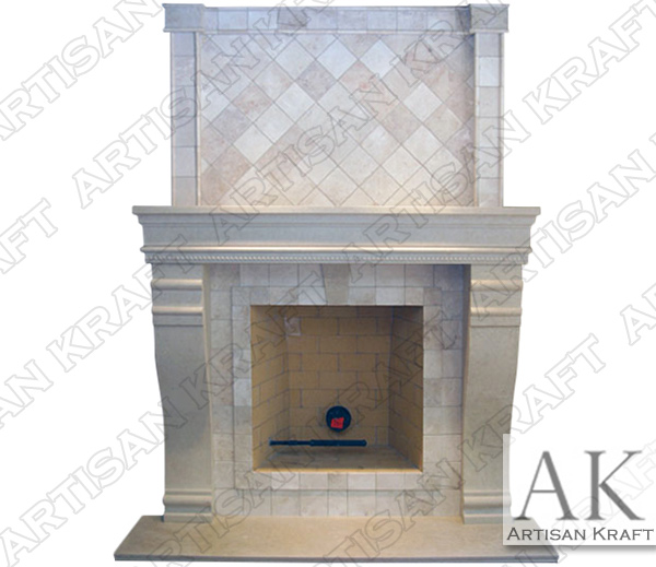 HAMPSHIRE-FIREPLACE-OVERMANTEL