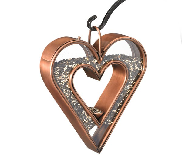 Heart-Fly-Thru-Bird-Feeder---Copper-Finish
