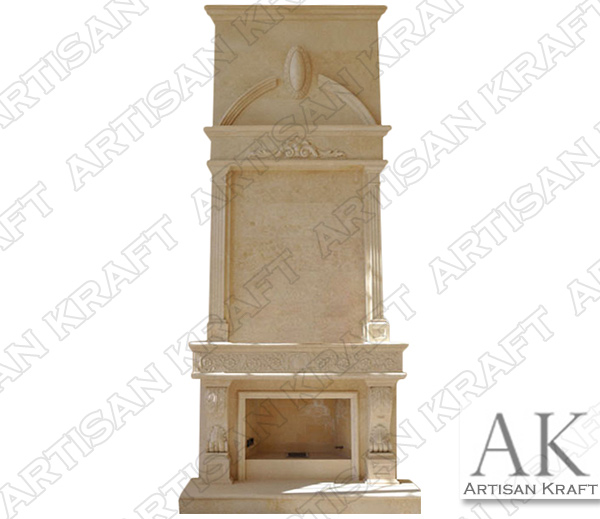 ITALIAN-TRADITION-FIREPLACE-OVERMANTEL