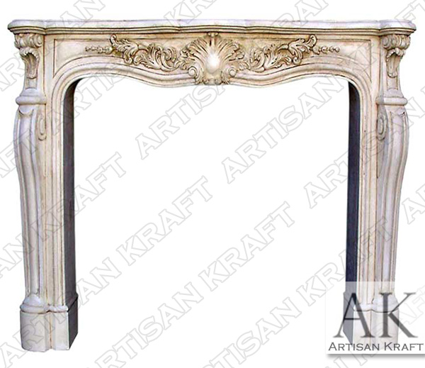 La Rochelle Fireplace Mantel