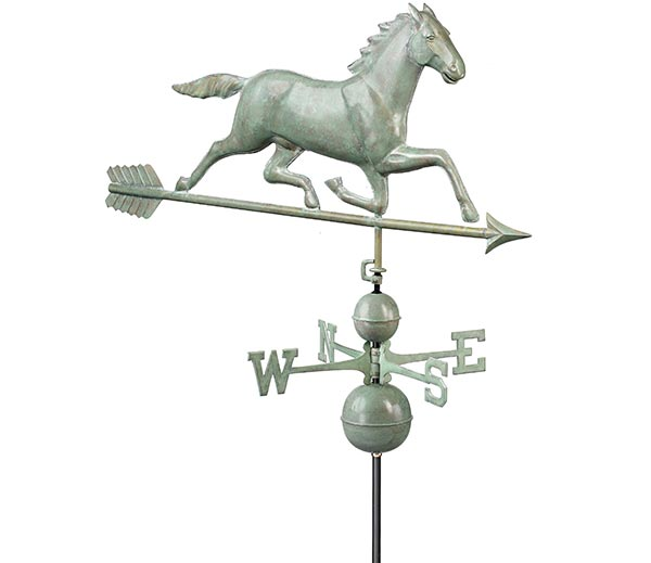 Large-Horse-Estate-Weathervane-Blue-Verde-Copper