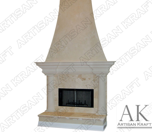 MESA-FIREPLACE-OVERMANTEL