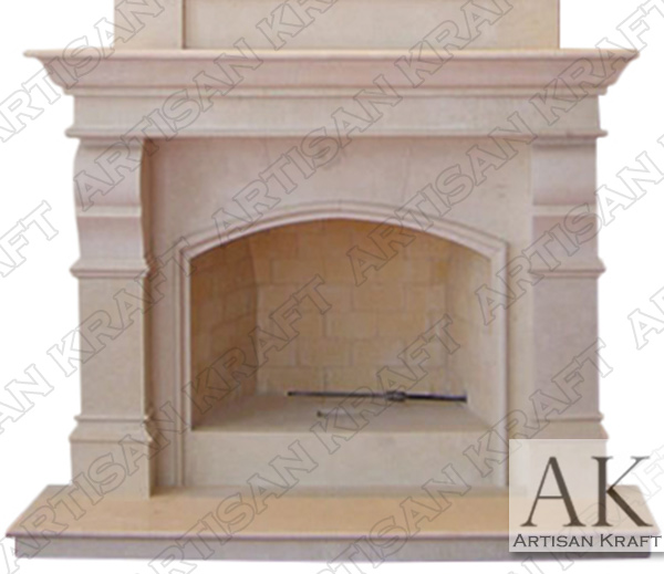 Metropolis Contemporary Fireplace Mantel