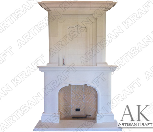 NORMANDY-FIREPLACE-OVERMANTEL