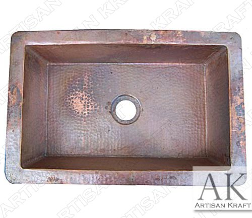 Natural-Color-Flat-Hammered-Copper-Kitchen-Sink-II1