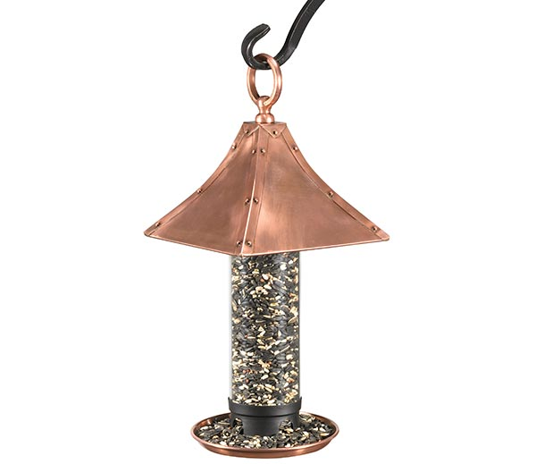 Palazzo-Bird-Feeder-Polished-Copper