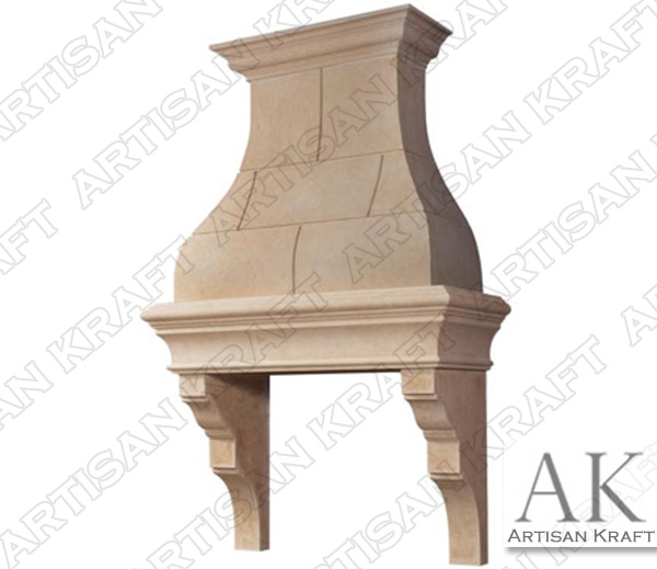 Paris Cast Stone Kitchen Range Hood