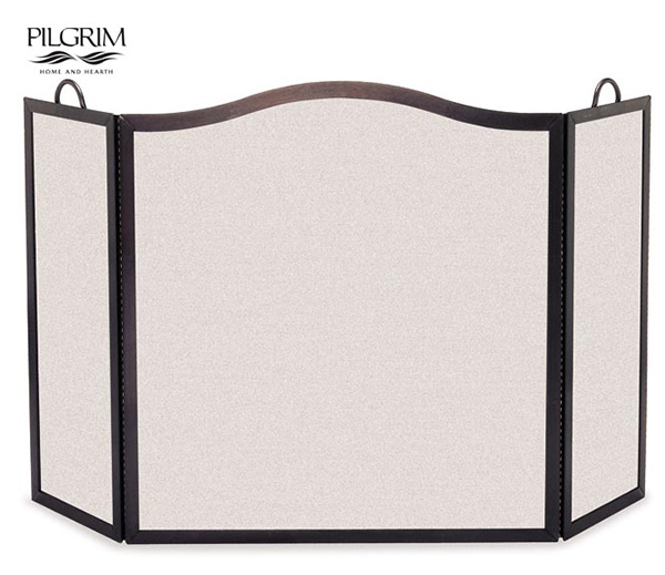 Pilgrim-Camelback-Arch-Tri-Panel-Fireplace-Screen