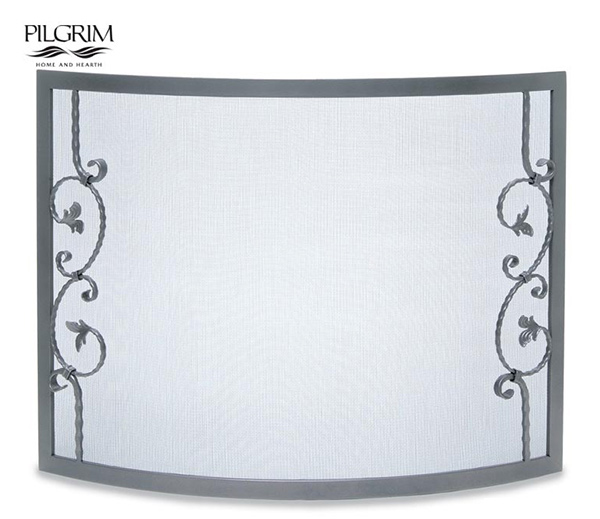 Pilgrim-Forged-Scallop-Bowed-Fireplace-Screen