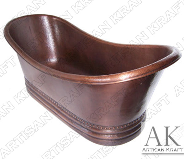 Queen-Hammered-Copper-Bath-Tub