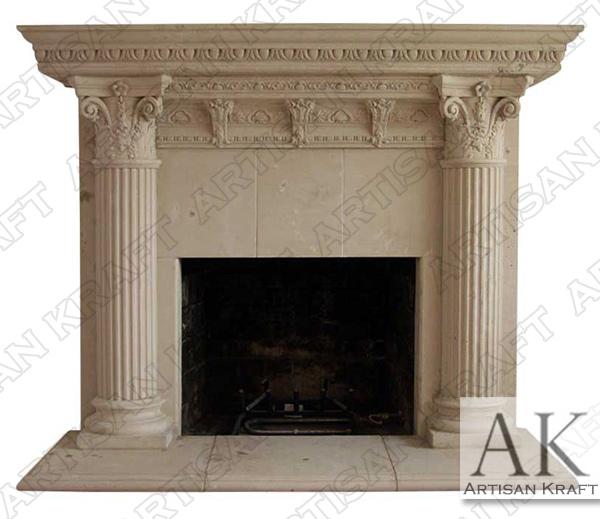 Rhodes Fireplace Mantel Surround