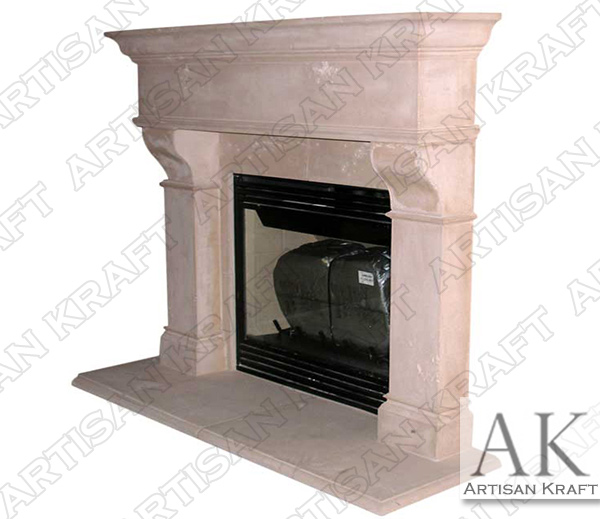 Rochester Fireplace Mantel Cast Stone