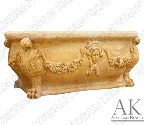 Royal Queen Stone Bathtub