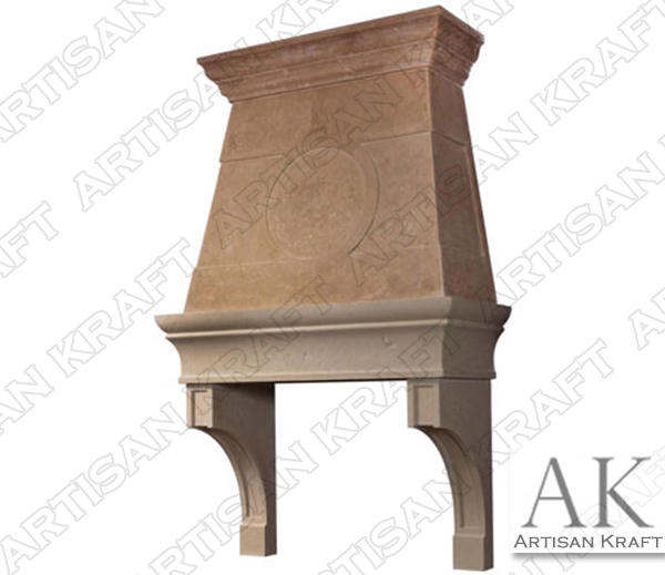 Raleigh Cast Stone Kitchen Hood