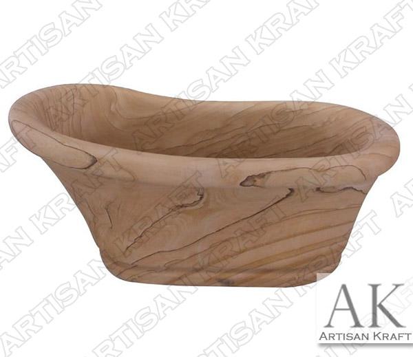 Sandstone Old World Slipper Tub
