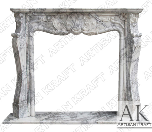 St Louis French Fireplace Mantel