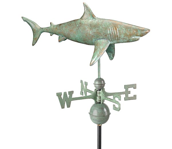Shark-Weathervane-Blue-Verde-Copper