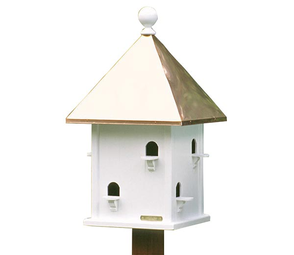 Square-Bird-House-with-Polished-Copper-Roof