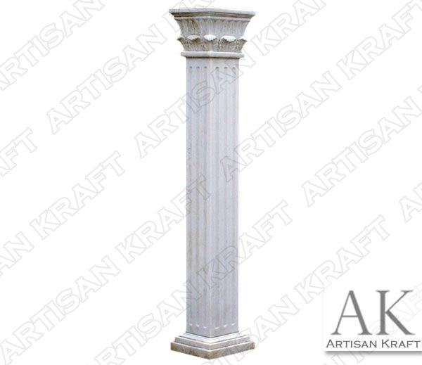 Square-Temple-of-the-Winds-Marble-Column