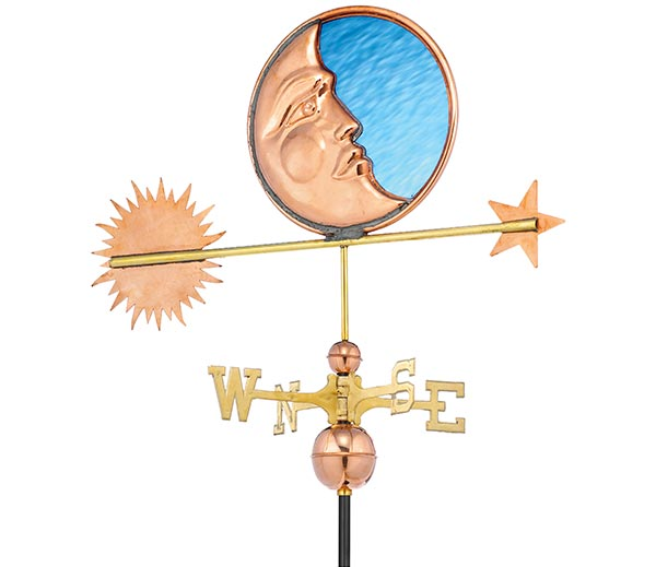 Stained-Glass-Moon-Weathervane-Polished-Copper