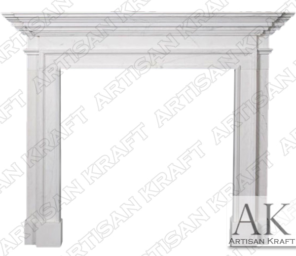 Traditional 2 Fireplace Mantel