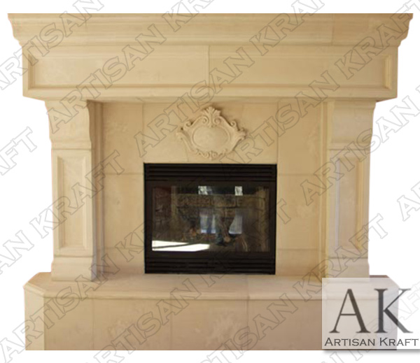 Tucson Precast Fireplace Mantel