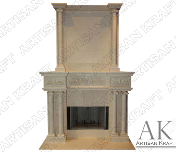 TUSCANY-FIREPLACE-OVERMANTEL