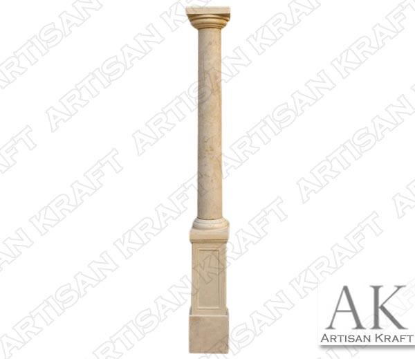 Tuscan Pedestal Marble Column